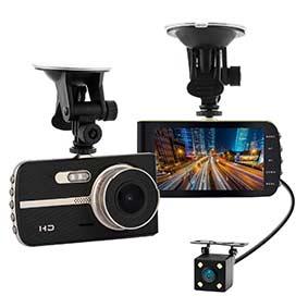 WEBVISION S5  Camera hành trình ghi hình trước