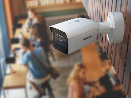 Lắp đặt camera quan sát cho quán ăn
