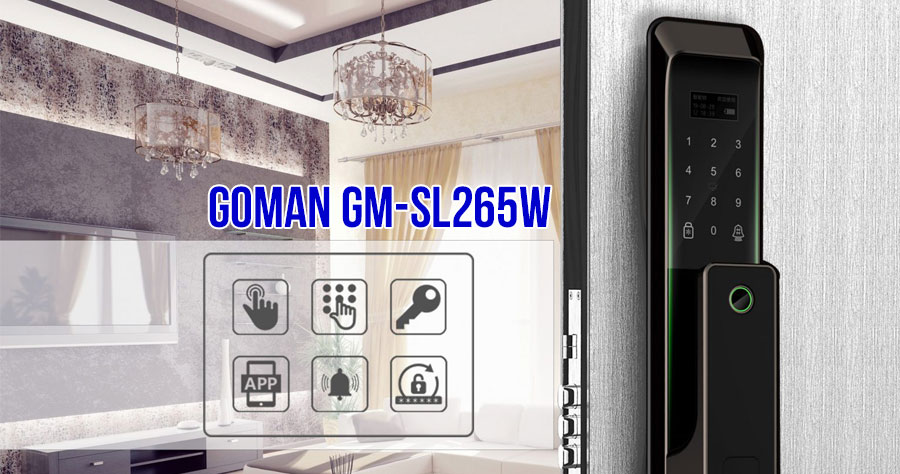 Khóa GOMAN GM-SL265W